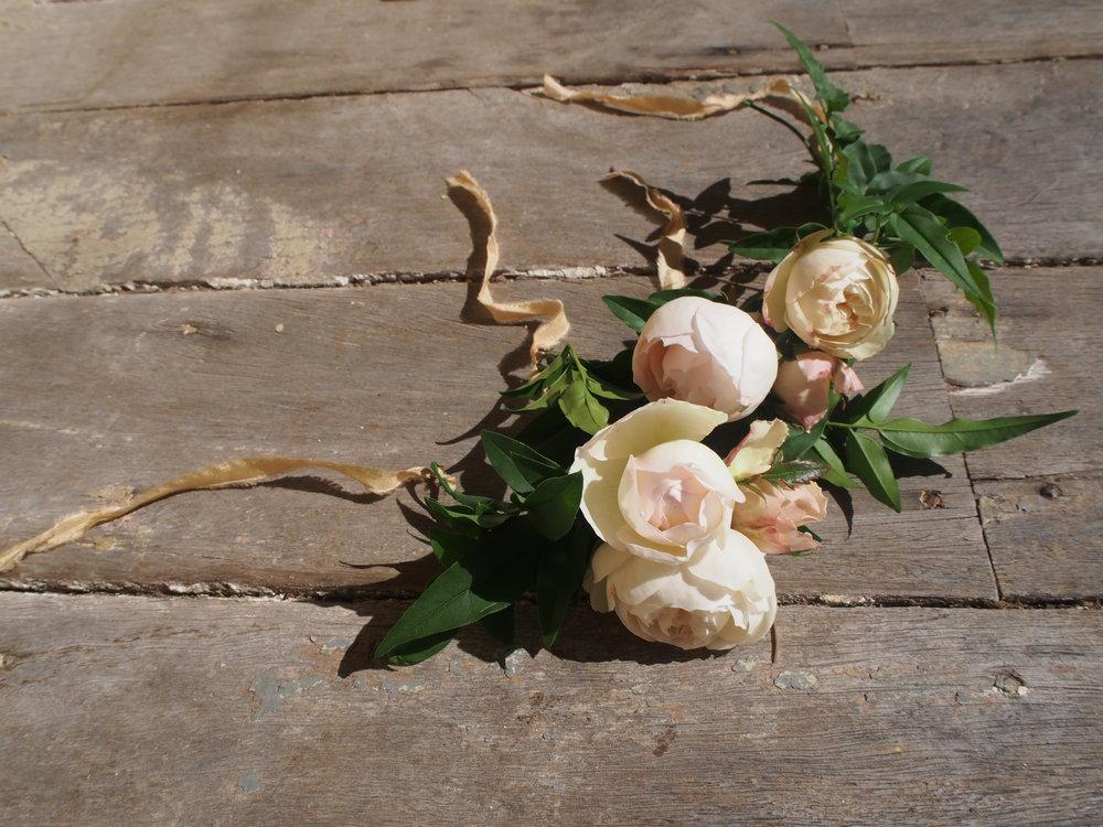 Bloodwood Botanica | Flower girl Flower Crown