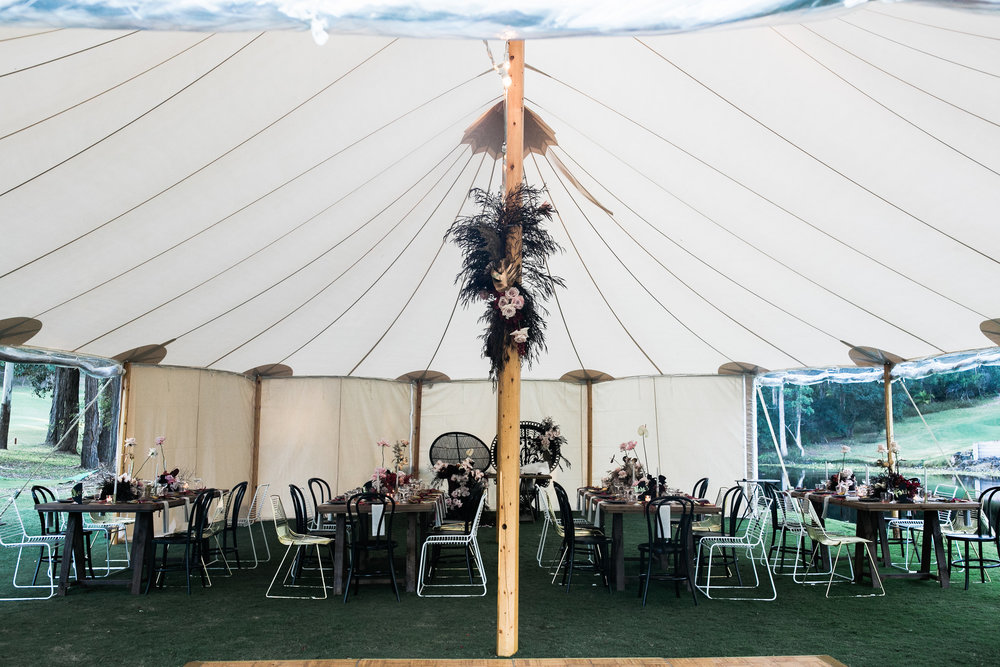 Bloodwood Botanica | Sperry Tent set up