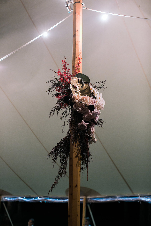Sperry tent florals | Bloodwood Botanica