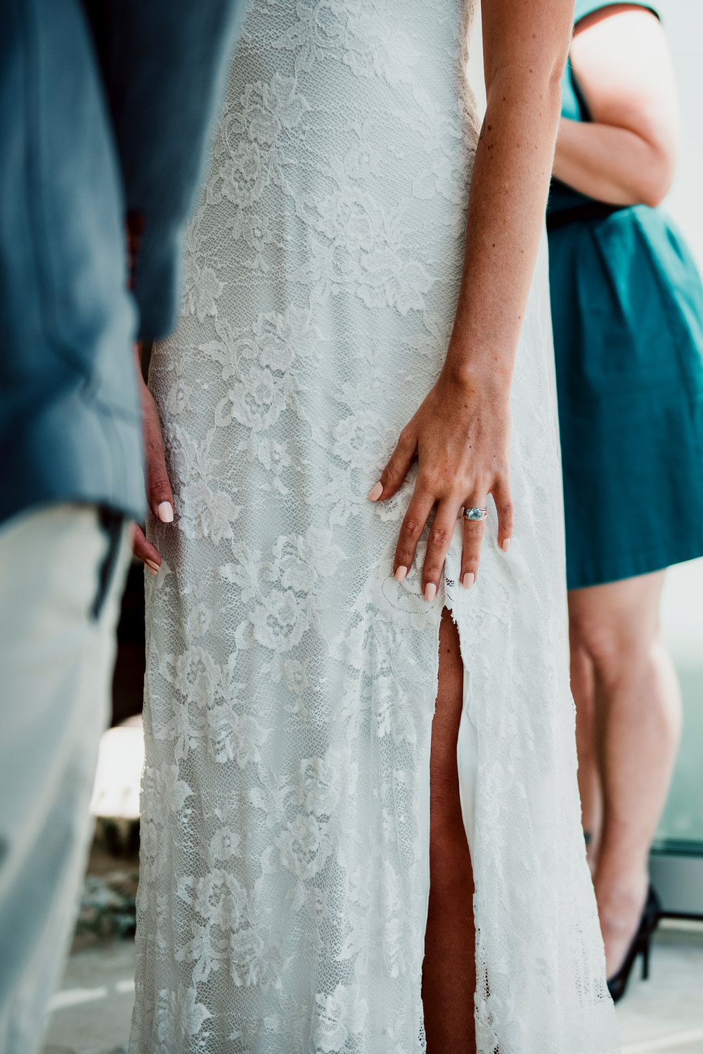 Bloodwood Botanica | GRACE LOVES LACE GOWN NOOSA WEDDING