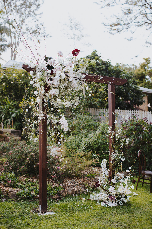 Bloodwood Botanica | Spring blossom arbour