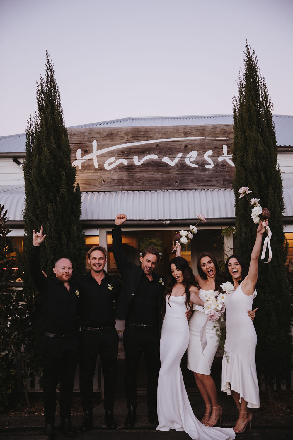 Bloodwood Botanica | Bridal Party Harvest Newrybar