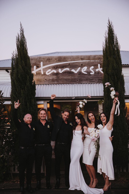 Bloodwood Botanica | Bridal Party Harvest Newrybar
