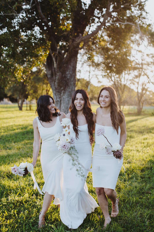 Harvest Newrybar | Bloodwood botanica bridal party