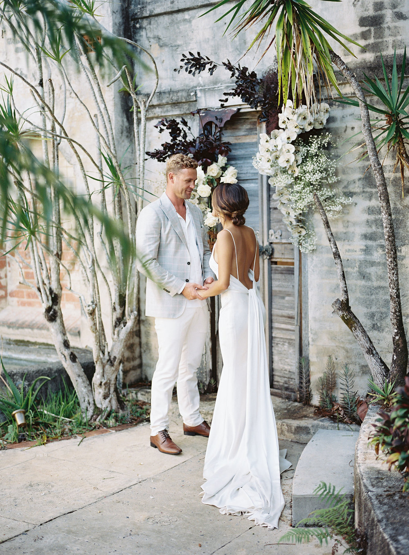 Bloodwood Botanica    Byron harpers bazaar wedding