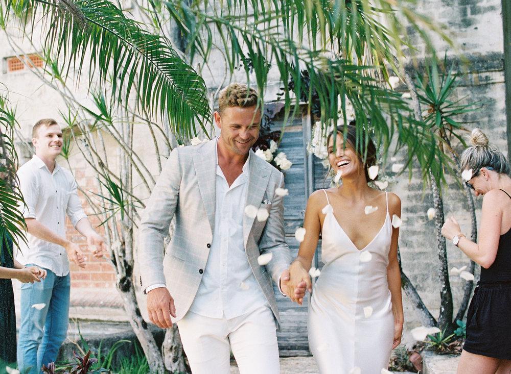 Bloodwood Botanica   Happy couple