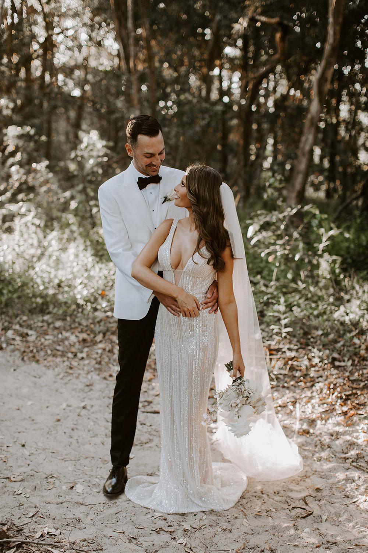 Bloodwood Botanica   Bride and groom