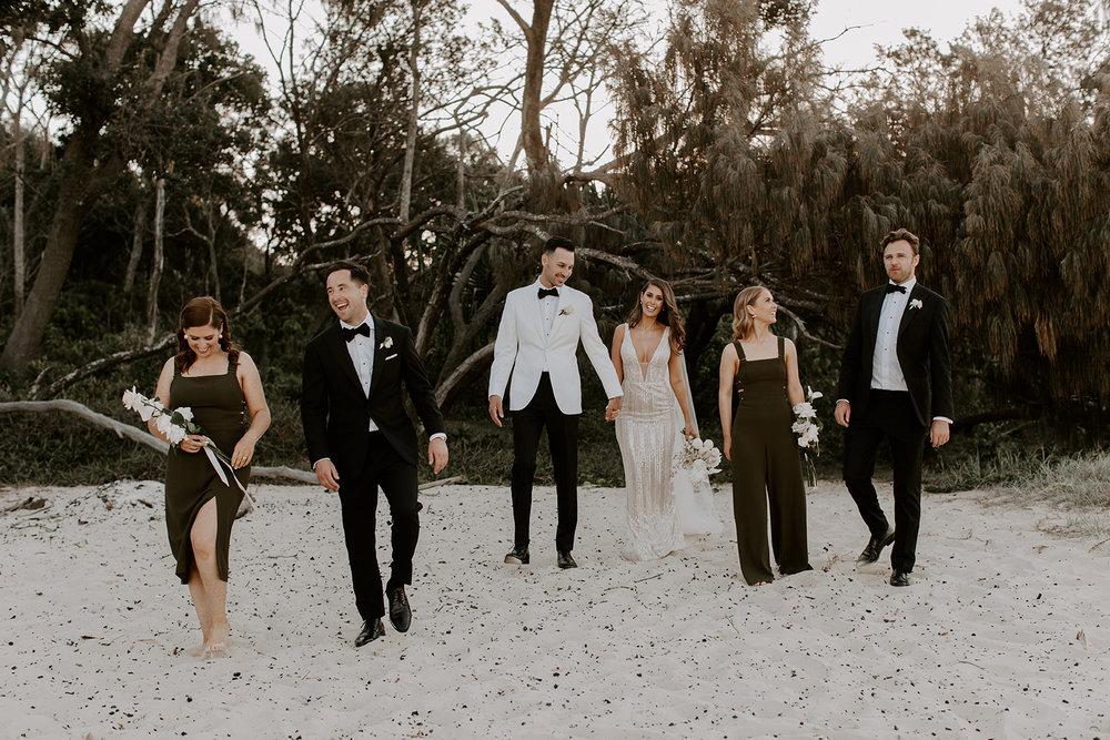 Bloodwood Botanica   Bridal party