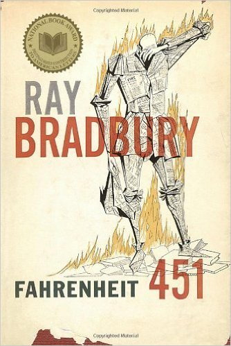 """First published in 1953, Fahrenheit 451 is a classic novel set in the future when books forbidden by a totalitarian regime are burned. The hero, a book burner, suddenly discovers that books are flesh and blood ideas that cry out silently when put to the torch."""