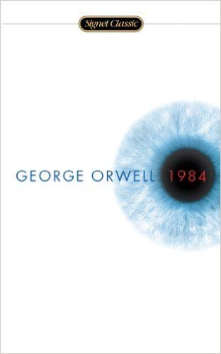 """Nineteen Eighty-Four is George Orwell's terrifying vision of a totalitarian future in which everything and everyone is slave to a tyrannical regime. The novel also coined many new words and phrases which regular appear in popular culture, such as 'Big Brother', 'thoughtcrime', 'doublethink' and 'Newspeak'."""