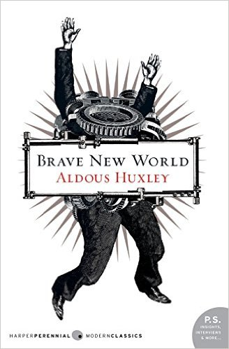 """Brave New World is a cautionary dystopian tale that anticipates developments in reproductive technology, sleep-learning, psychological manipulation, and classical conditioning that combine profoundly to change society."""