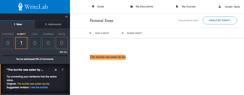 WriteLab Editor | Agents