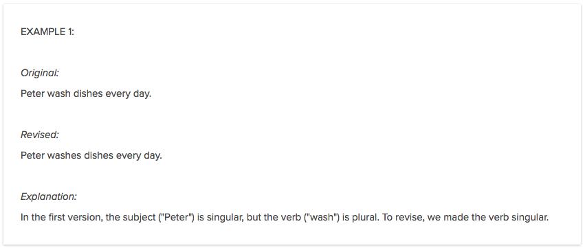 Subject & Predicate | Subject-Verb Disagreement
