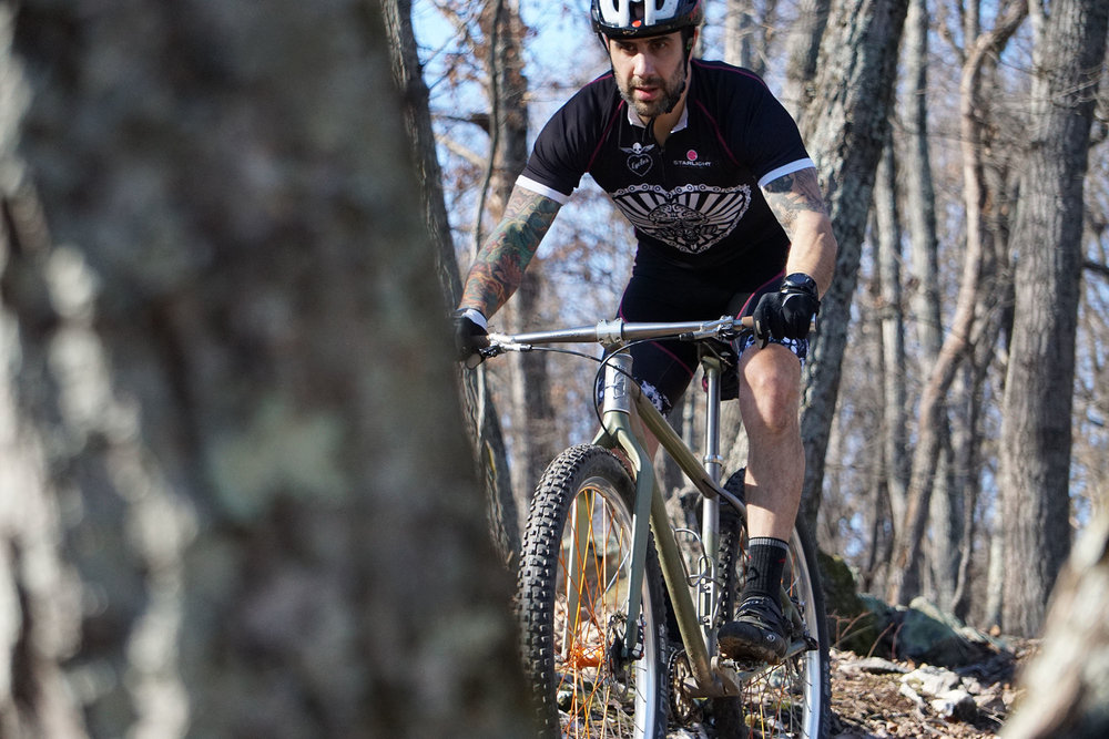 The Pro+ Jersey is our most popular for on and off-road. The light fabrics, double-stitched seams, and vented sides make it great for a day on the trails.