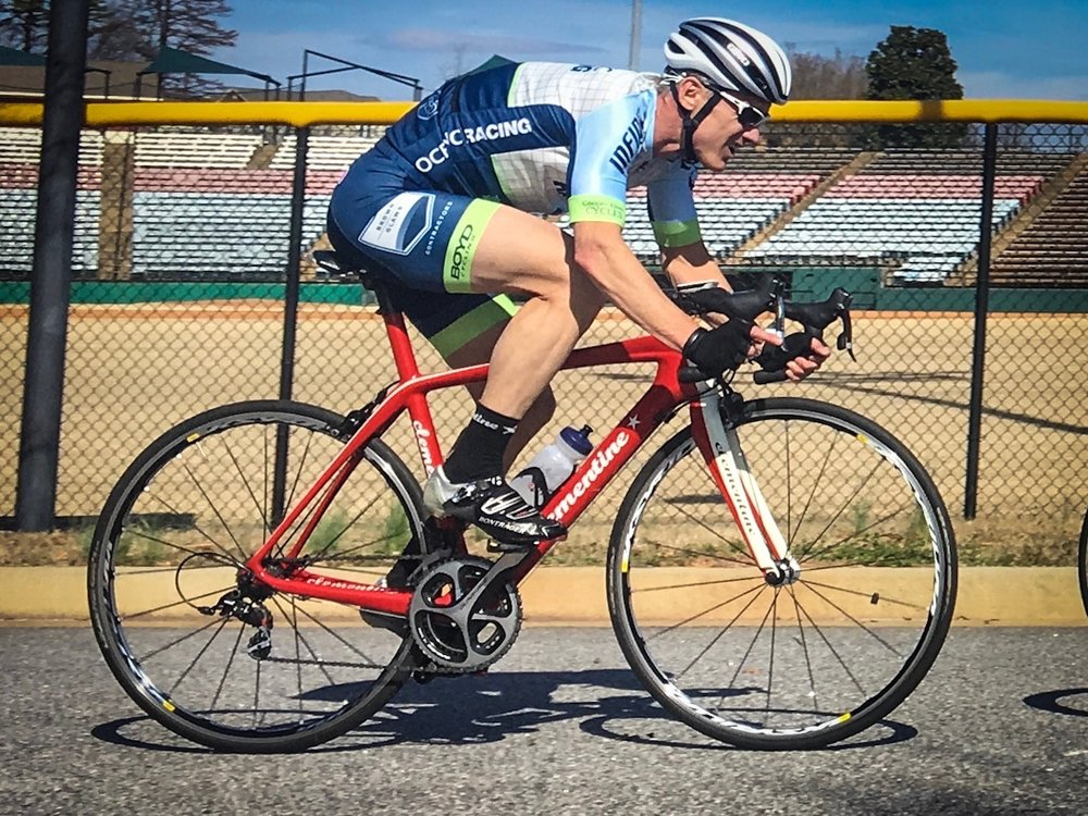 The Pro Aero II jersey and Pro+ bibs in action with South Carolina's Oceanic Racing.