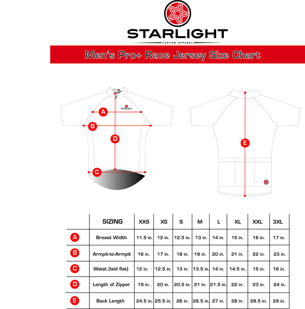 Men's Pro+ Race Fit Jersey Size  Chart.jpg