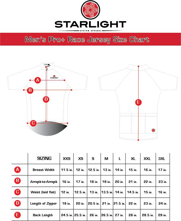 Men's Pro+ Race Fit Jersey Size  Chart.png