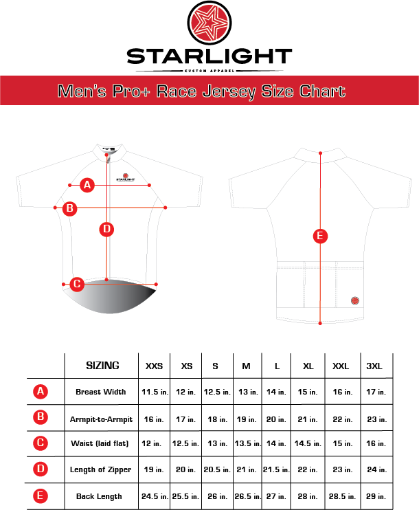 Men's Pro+ Race Fit Jersey Size  Chart.png