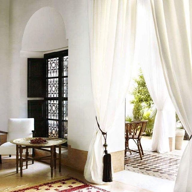 @JasperConran the celebrated designer, has opened his first hotel @lhotelmarrakech in the heart of Marrakech, Morocco in a 19th-century riad. Five beautiful suites are centred around a courtyard garden and right next to a narrow swimming pool surrounded by orange and lemon trees.⠀ ⠀ #hotel #hotels #style #morroco #white #riad #designinterior #hoteldesign #sunlight #travelandlife #travel #traveler #traveller #traveltheworld #novacancy #interiordesign #interiors #interiordecor #interiorstyling #marrakesch ⠀ ⠀ Credit: #📷 @qmin_magazine @lhotelmarrakech