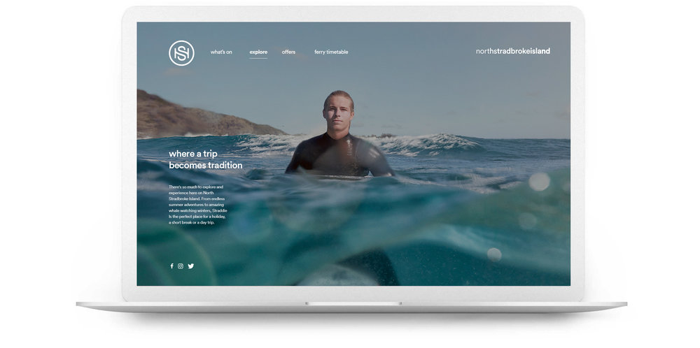 A new online experience has been designed and built for the island