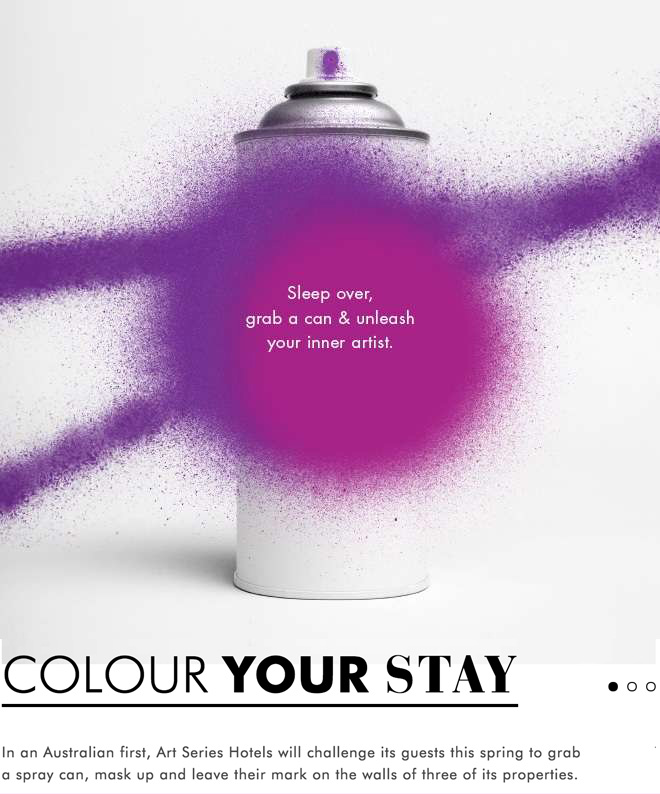 Art Series Hotels  are consistently effective and creative with their marketing.