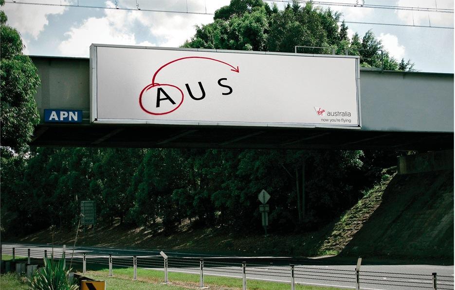 Luke's award winning work for  Virgin Australia  airlines.