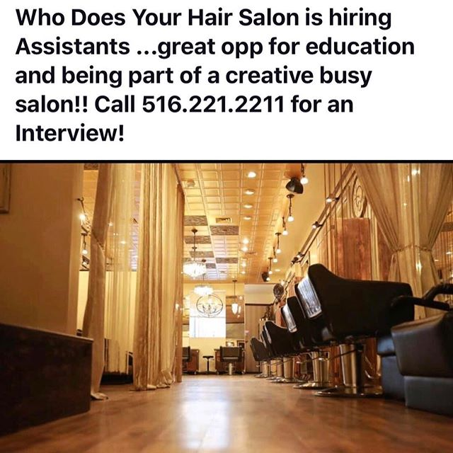 Incredible opportunity for the new year ✨✨✨#careergoals#cosmetology#2019