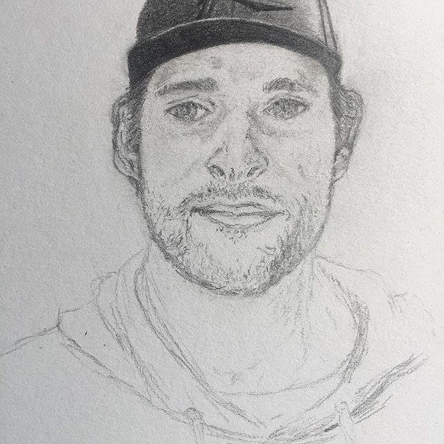 My muse. #sketchgram  #handsomeman #thisiswhathappenswhenimbored