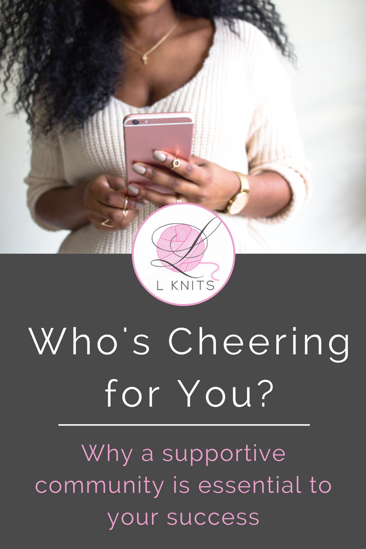 Who's Cheering for You?   LKnits.com .png