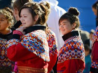 Traditional Greenland Beaded Collars - Beautiful!