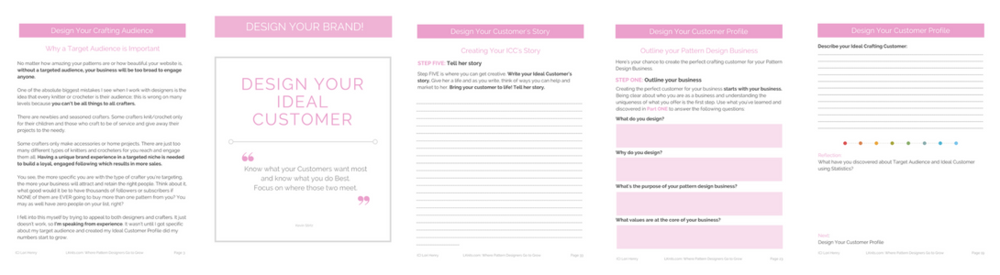 Sample pages of DESIGN YOUR AUDIENCE