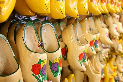 nelis' dutch village  Because when in Rome you ride Dutch rides & make your own wooden shoes.