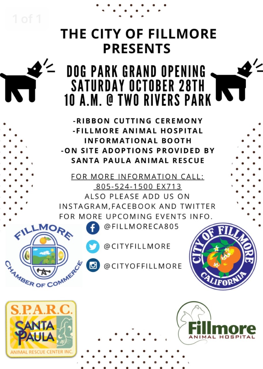 Fillmore Dog Park Grand Opening Oct 28, 2017.jpg