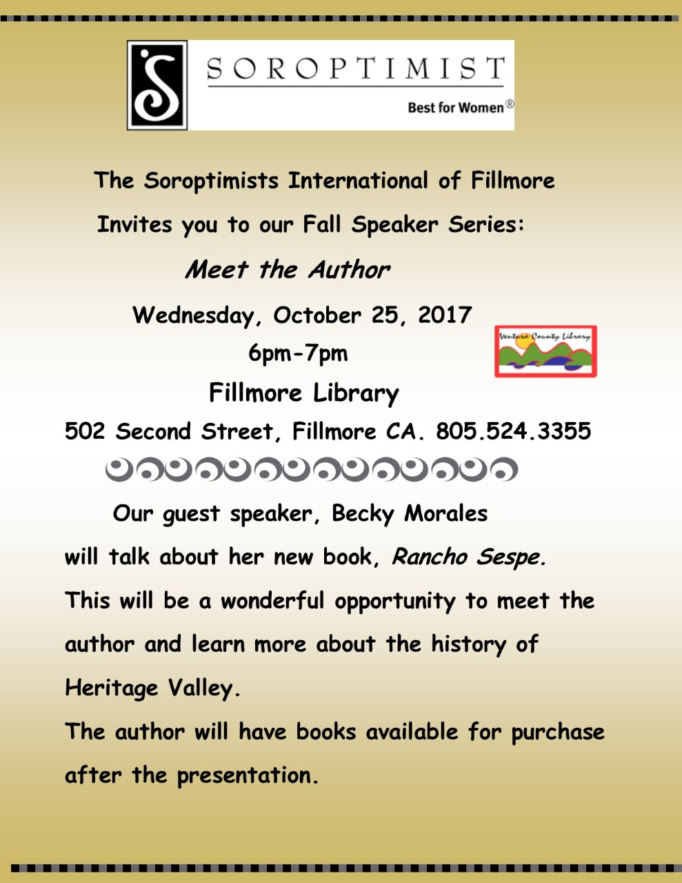 Meet the Author Becky Morales Wed Oct 25, 2017.jpg