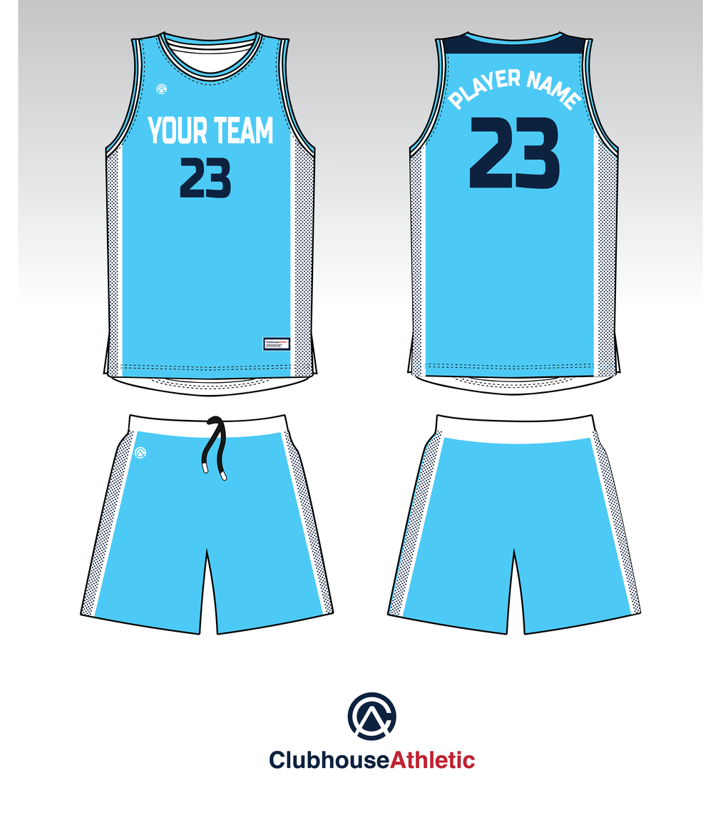 d9bea1640 Dotted Panel Basketball Jersey - Panel designs add a lot of character to  team uniforms with