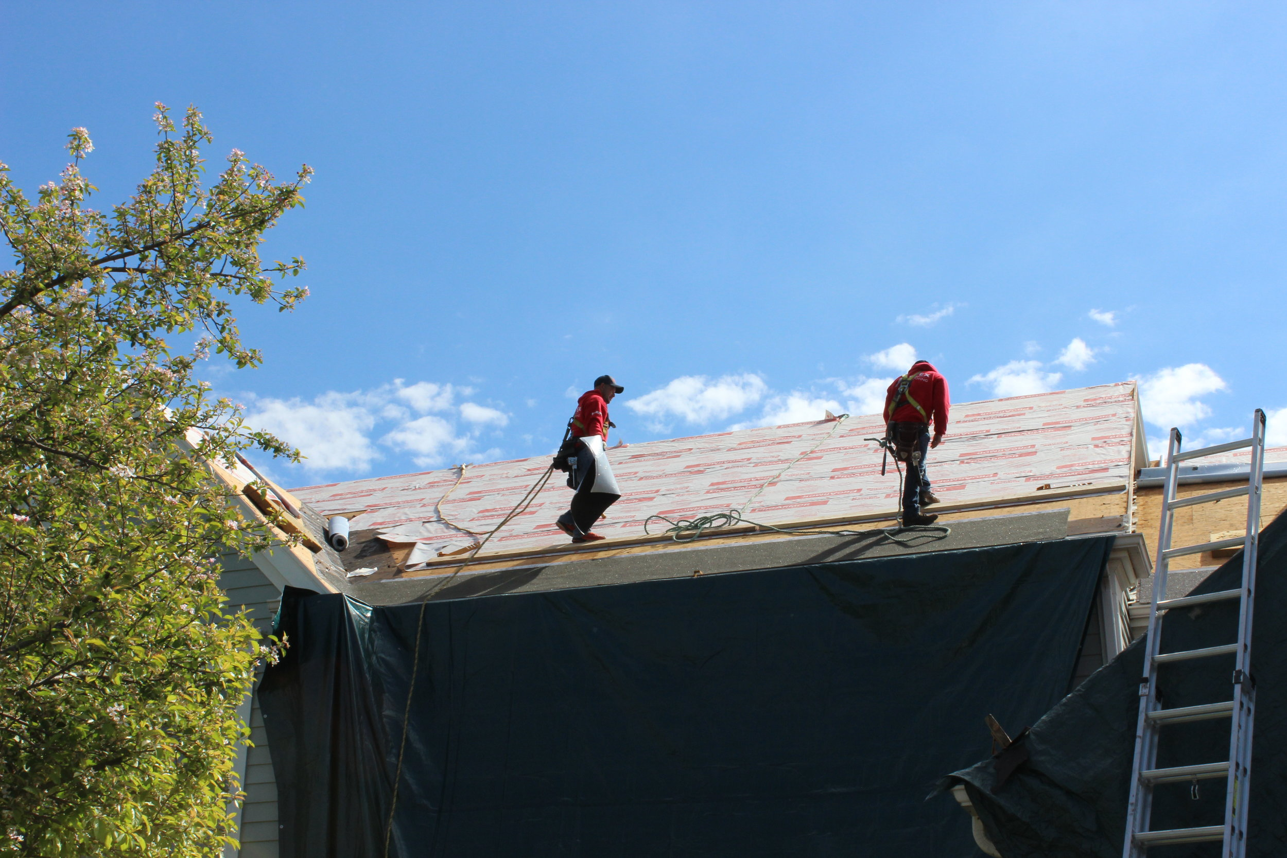 Artex Roofing Tinley Park IL New Roof Installationnbsp