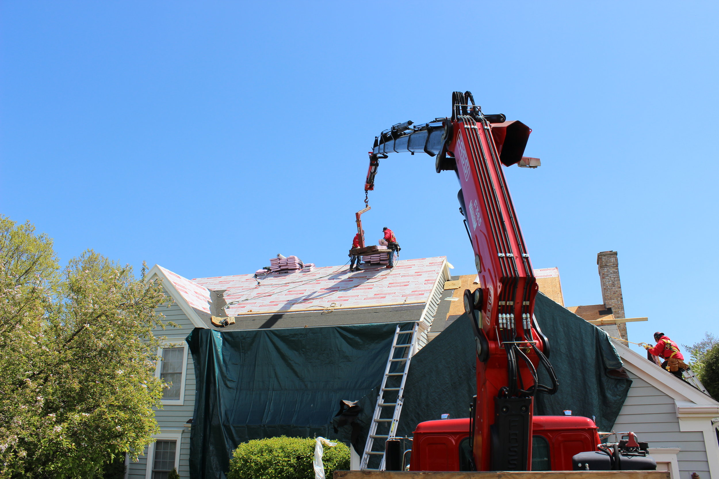 Artex Roofing Tinley Park IL New Roof Installation