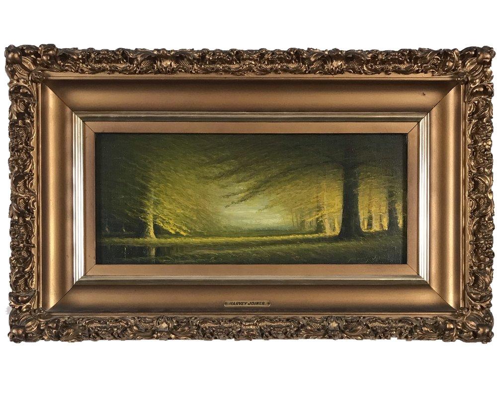 Harvey Joiner oil painting