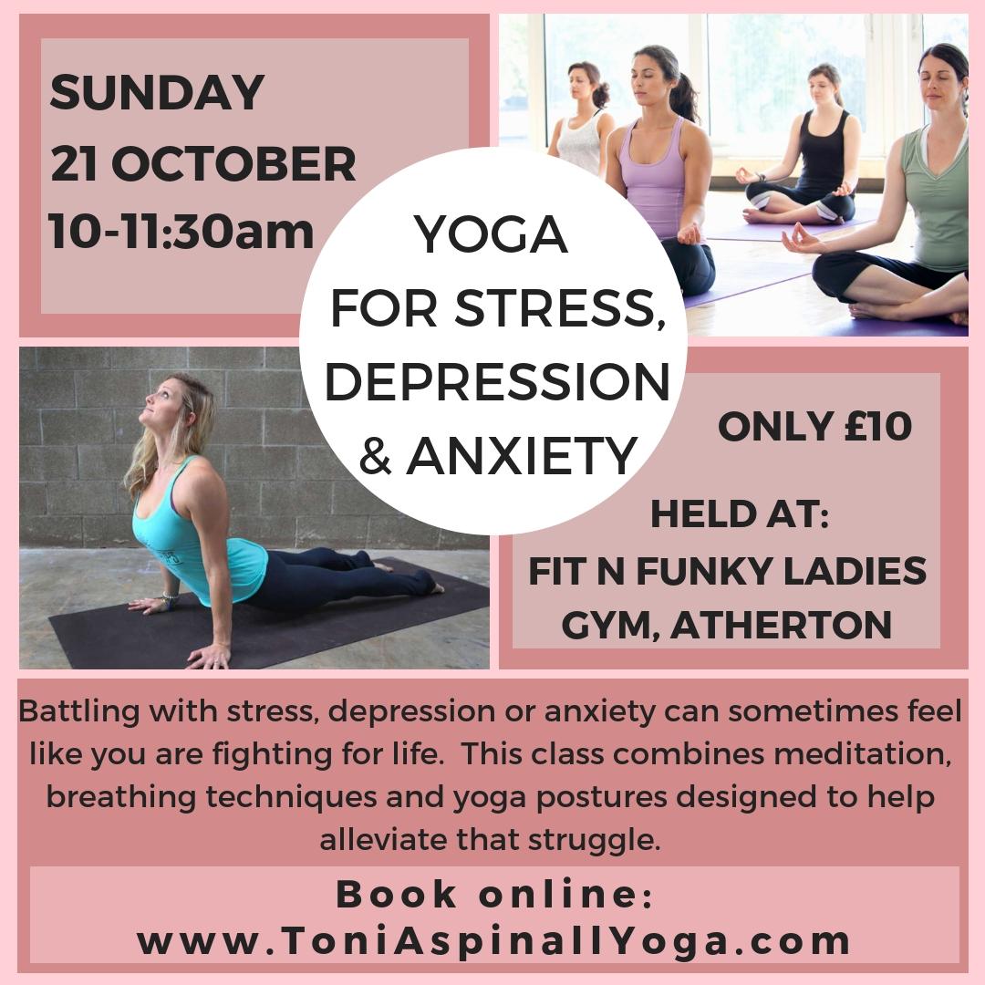 Yoga For Stress Depression Anxiety Toni Marie Yoga
