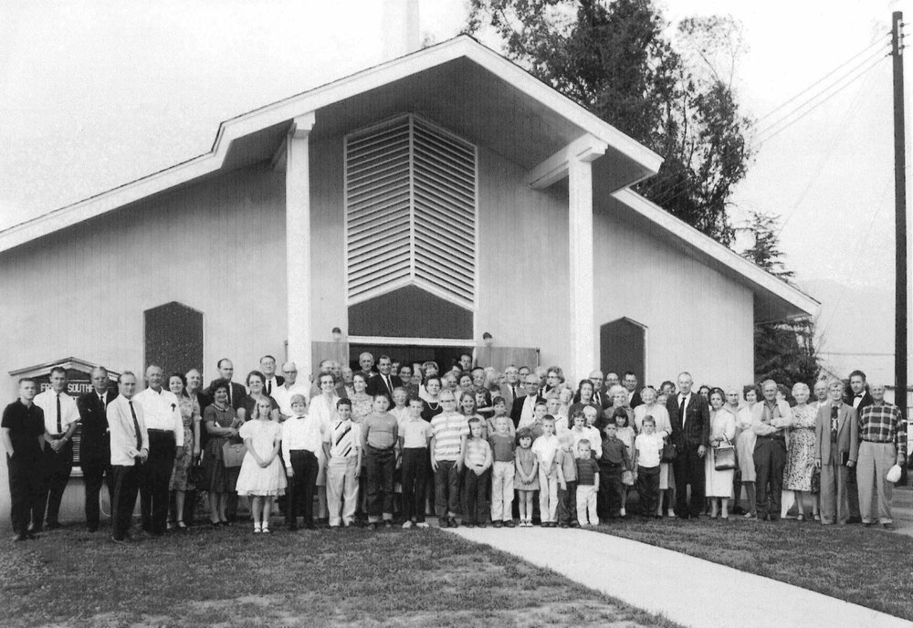 First constructed building - Dedicated on 10/27/1963