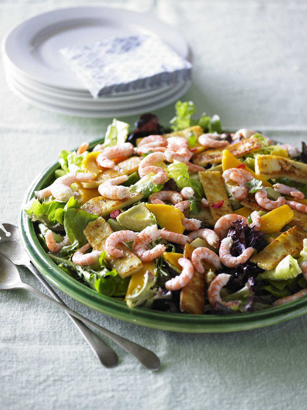 PRAWN and MANGO with GRILLED HALOUMI SALAD.jpg