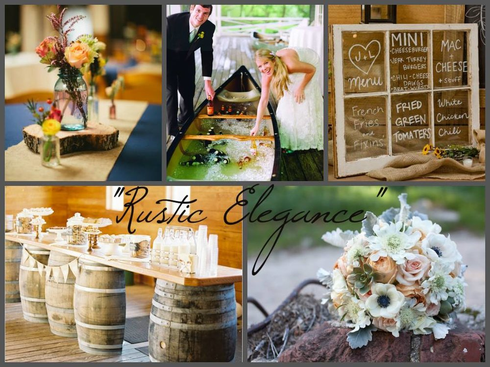 It has even helped to create a mood board from Pinterest inspiration to really help focus wedding themes and details! (Photos taken from Pinterest shares, so original photo credit is unknown)