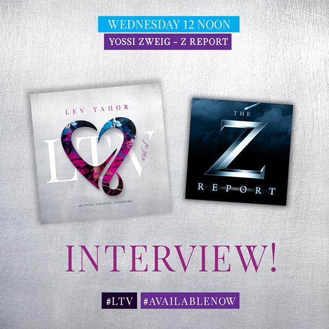 Tomorrow! Catch us on The Z Report with @YossiZweig