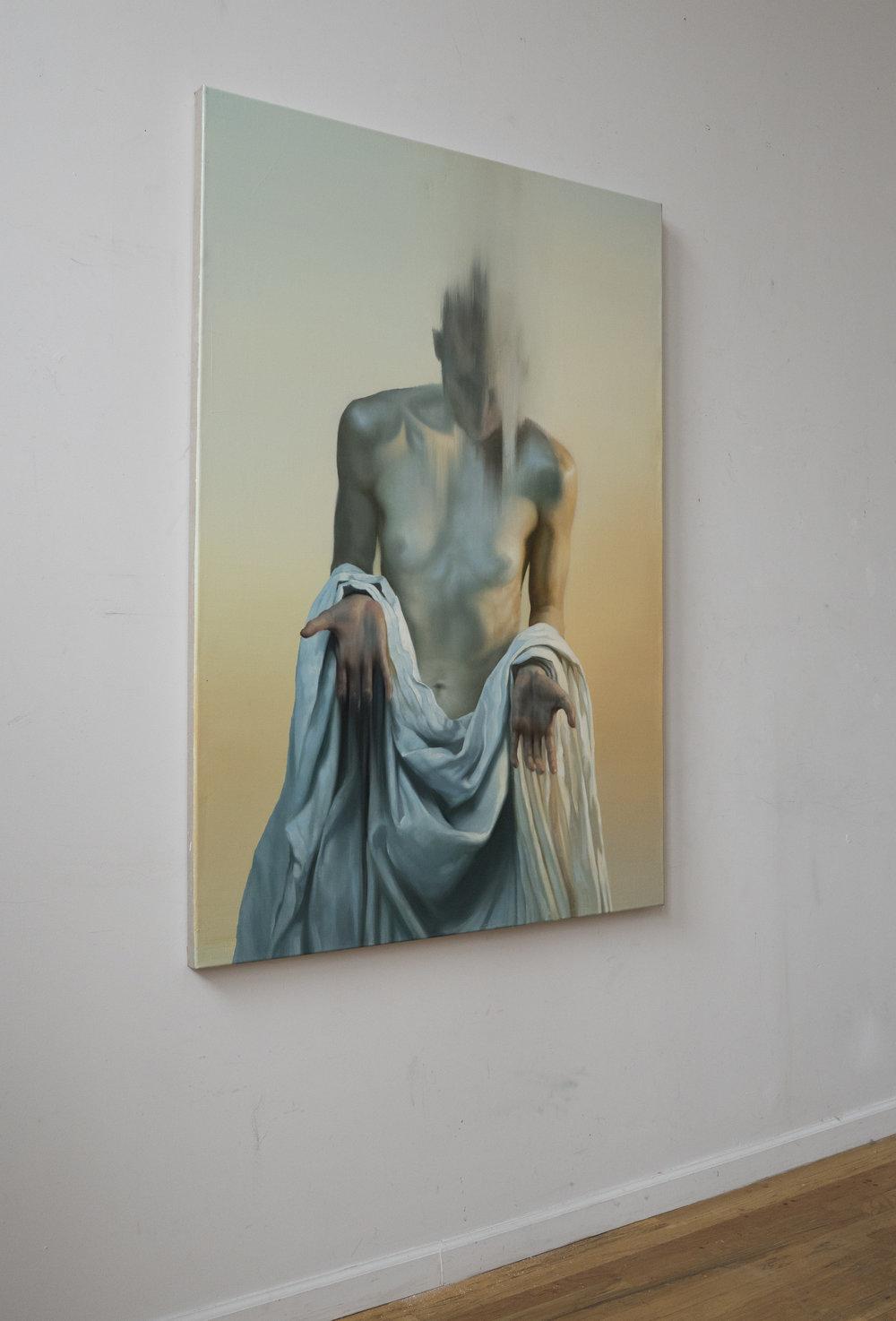 Maria Kreyn _ the sieve II_ on wall in profile .JPG