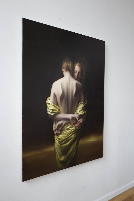 Maria Kreyn _ the horizon _ on wall profile .JPG