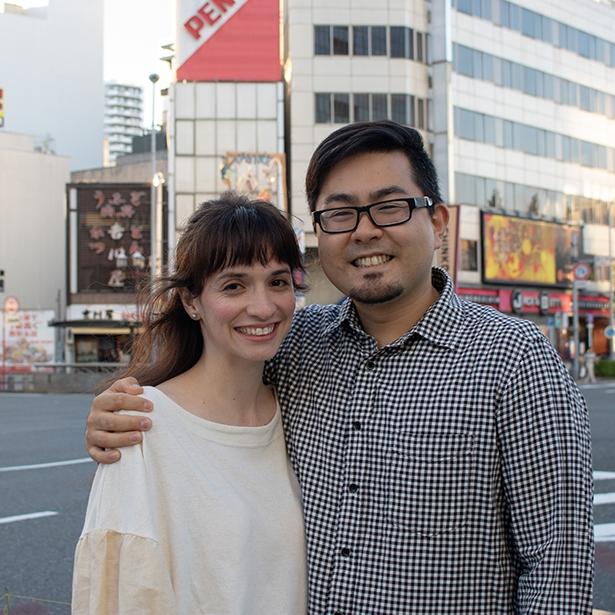 Akira and Sarah Soyama