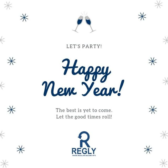 Have a great night partying tomorrow night and ringing in 2019!