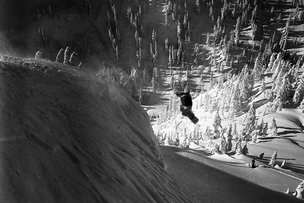 Jamie Lynn, Mt. Baker, 1998, Chris Brunkhart photo