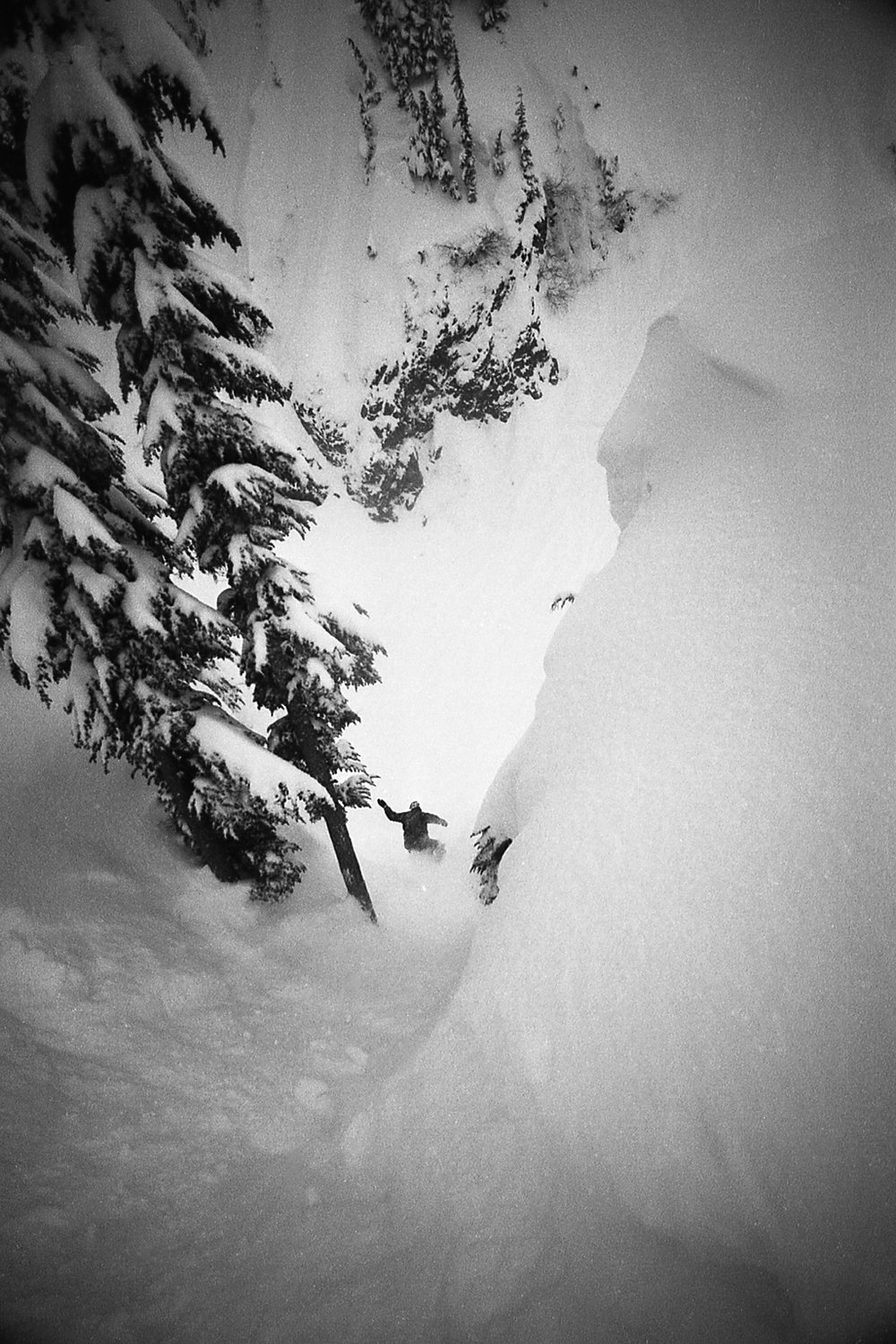 Andy Hetzel, Mt Baker, WA, 1996, Chris Brunkhart photo