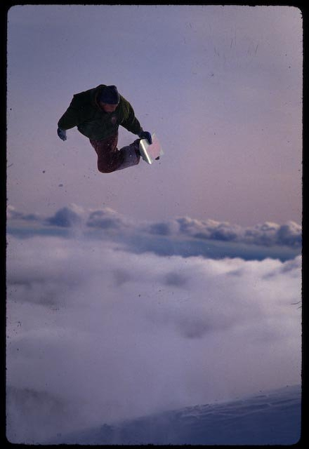 Matt Donahue, Mt. Hood Meadows, mid-90s, Chris Brunkhart photo